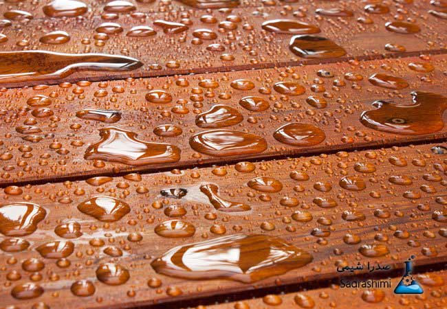 آب گريز کردن سطح چوب بلوط با استئاريک اسيد